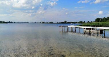 Plaża w Lisewie nad Jeziorem Skulskim