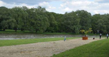 Plaża przy ulicy Białogórskiej w Sanoku nad Sanem