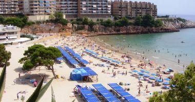 Capellans Beach, Salou, Hiszpania
