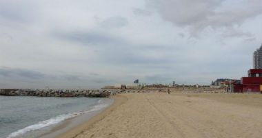 Bogatell Beach, Barcelona, Hiszpania