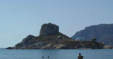 Agios Stefanos Beach, Kefalos, Grecja