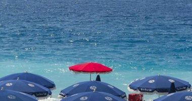 Blue Beach, Nicea, Francja