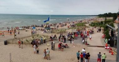 Grand Bend Beach, Grand Bend, Lambton Shores, Kanada