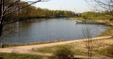 Plaża nad Zalewem Kieleckim w Kielcach