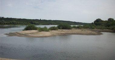 Plaża naturystów w Kazimierzu Dolnym nad Wisłą