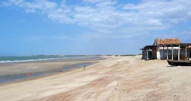 Pedra do Sal Beach, Parnaiba, Brazylia